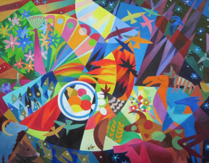 Выставка «Свет цвета»