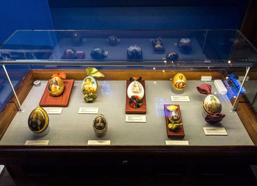 Выставка «Праздники Господни. Памятники декоративно-прикладного искусства»