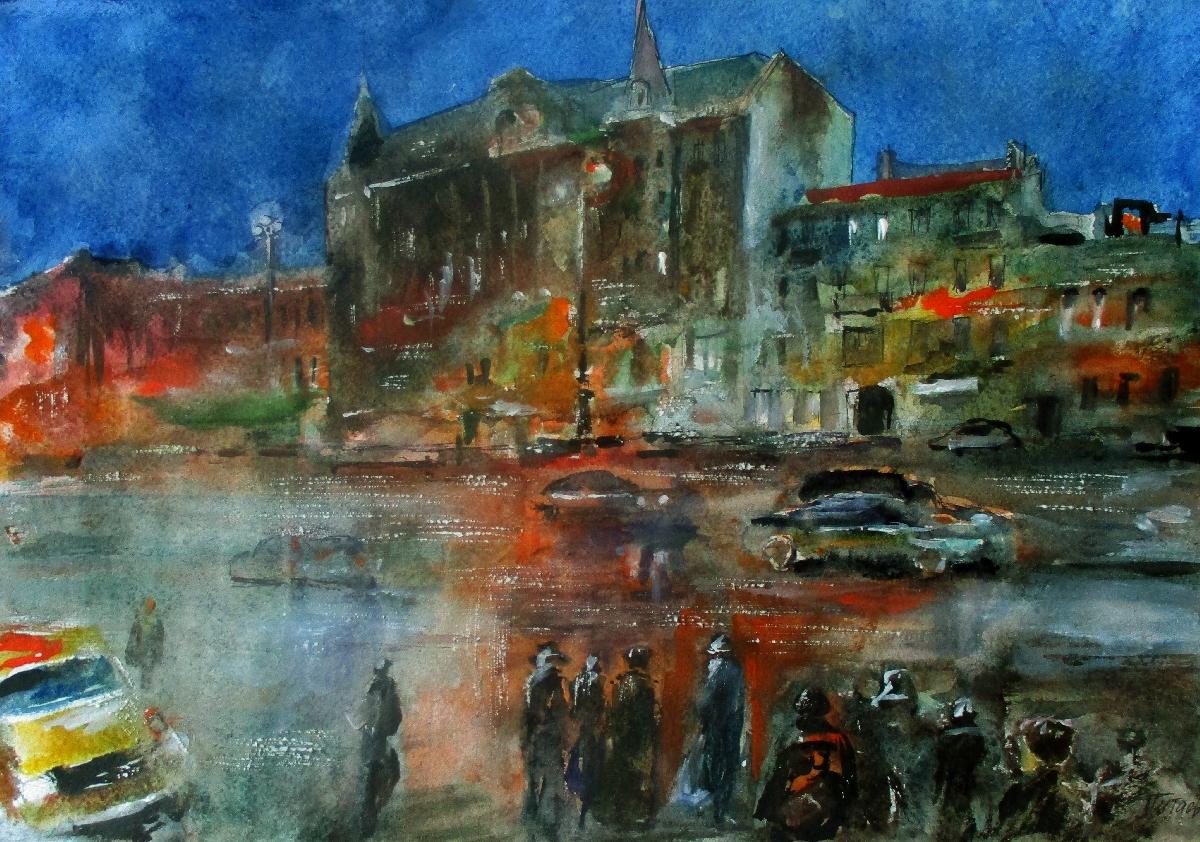 Выставка акварелей Валерия Питаева