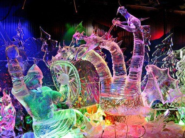 Фестиваль ледовых скульптур «ICE-fantasy»