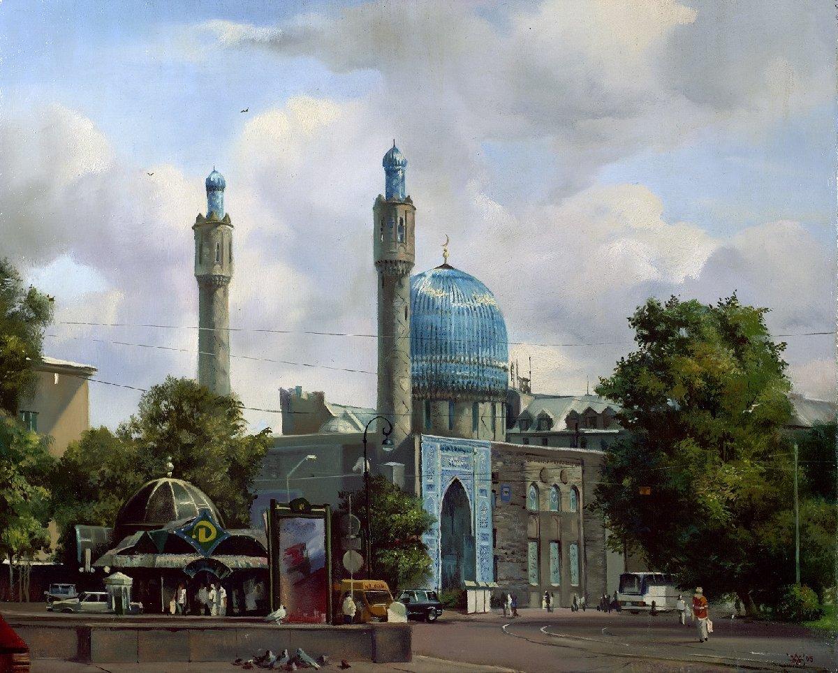 Выставка «100 лет содня окончания строительства Санкт-Петербургской Соборной мечети»