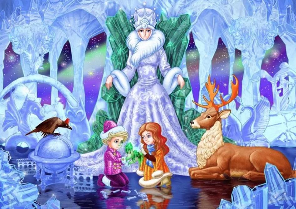 Выставка-игра «Вот так история!» испектакль «Снежная королева»