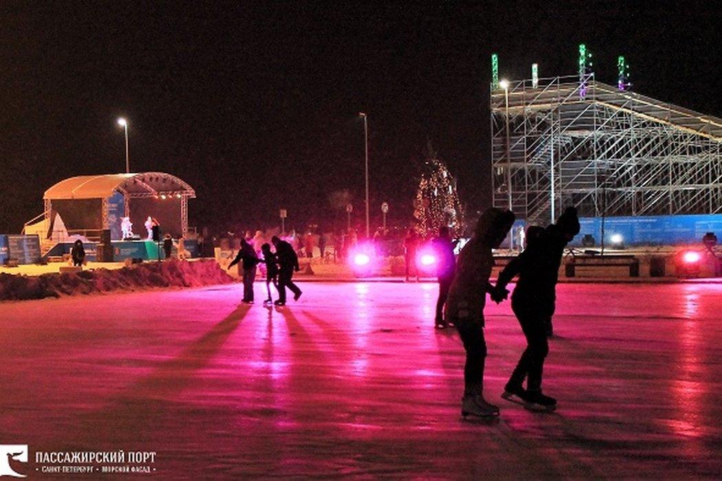 Фестиваль «ЗимаФест» вПорту «Морской фасад»