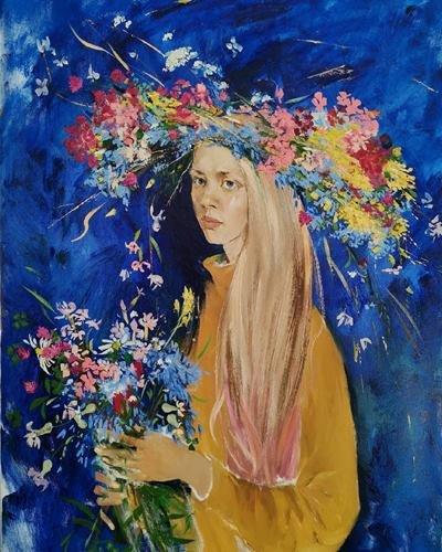 Выставка «Нежный цвет»