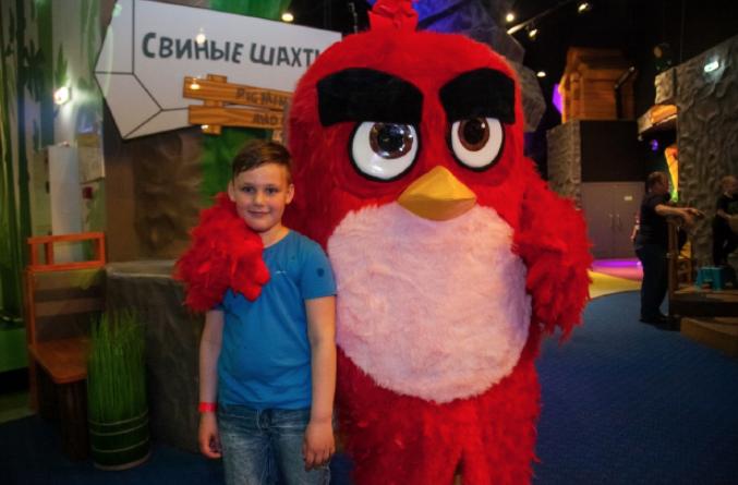 Черная пятница впарке активного отдыха Angry Birds Activity Park 2019