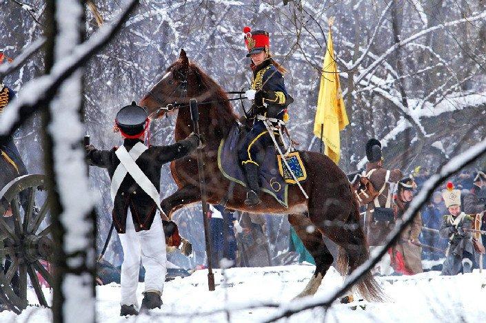 Военно-историческая реконструкция впарке Екатерингоф 2018