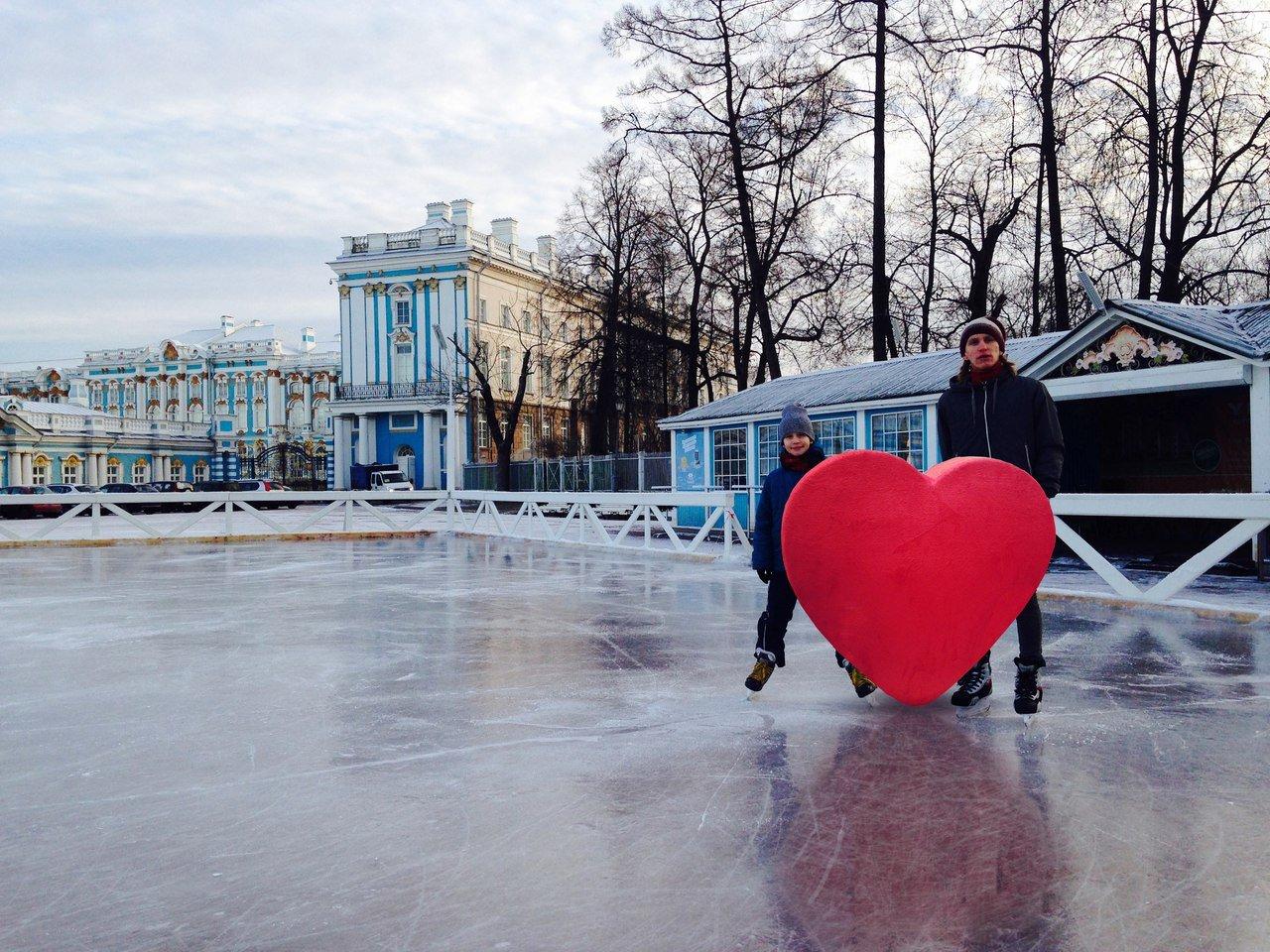 «Царскосельский каток» наТреугольной площади 2016