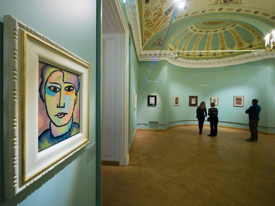 Выставка «Алексей иАндреас Явленские. Приключения цвета»