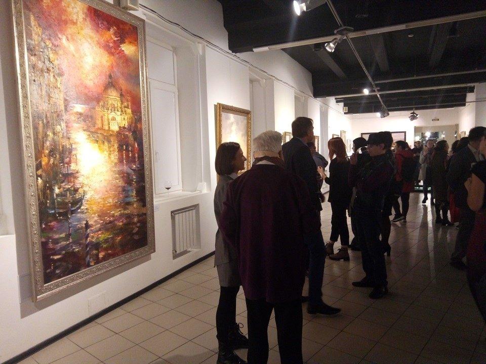 Выставка живописи Романа Ляпина
