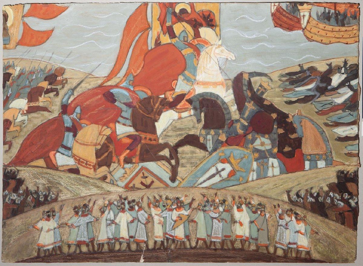 Выставка «История России взеркале сцены»