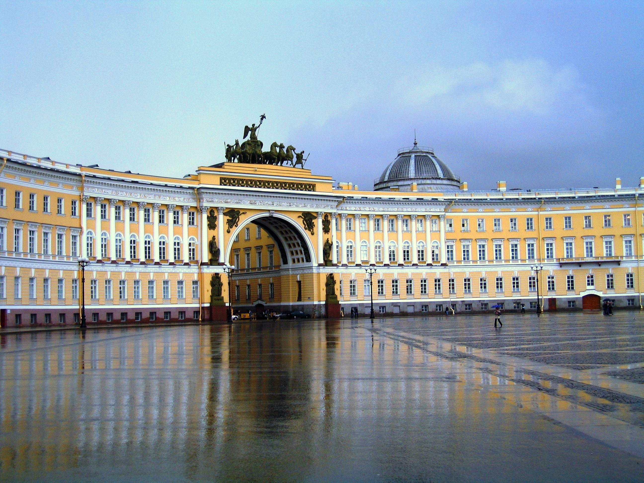 Здание Главного штаба иТриумфальная арка Главного штаба