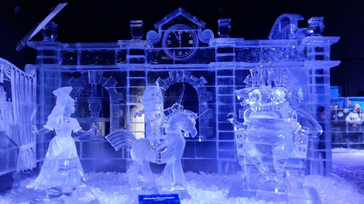 Фестиваль ледовых скульптур «Ice Fantasy— 2018»