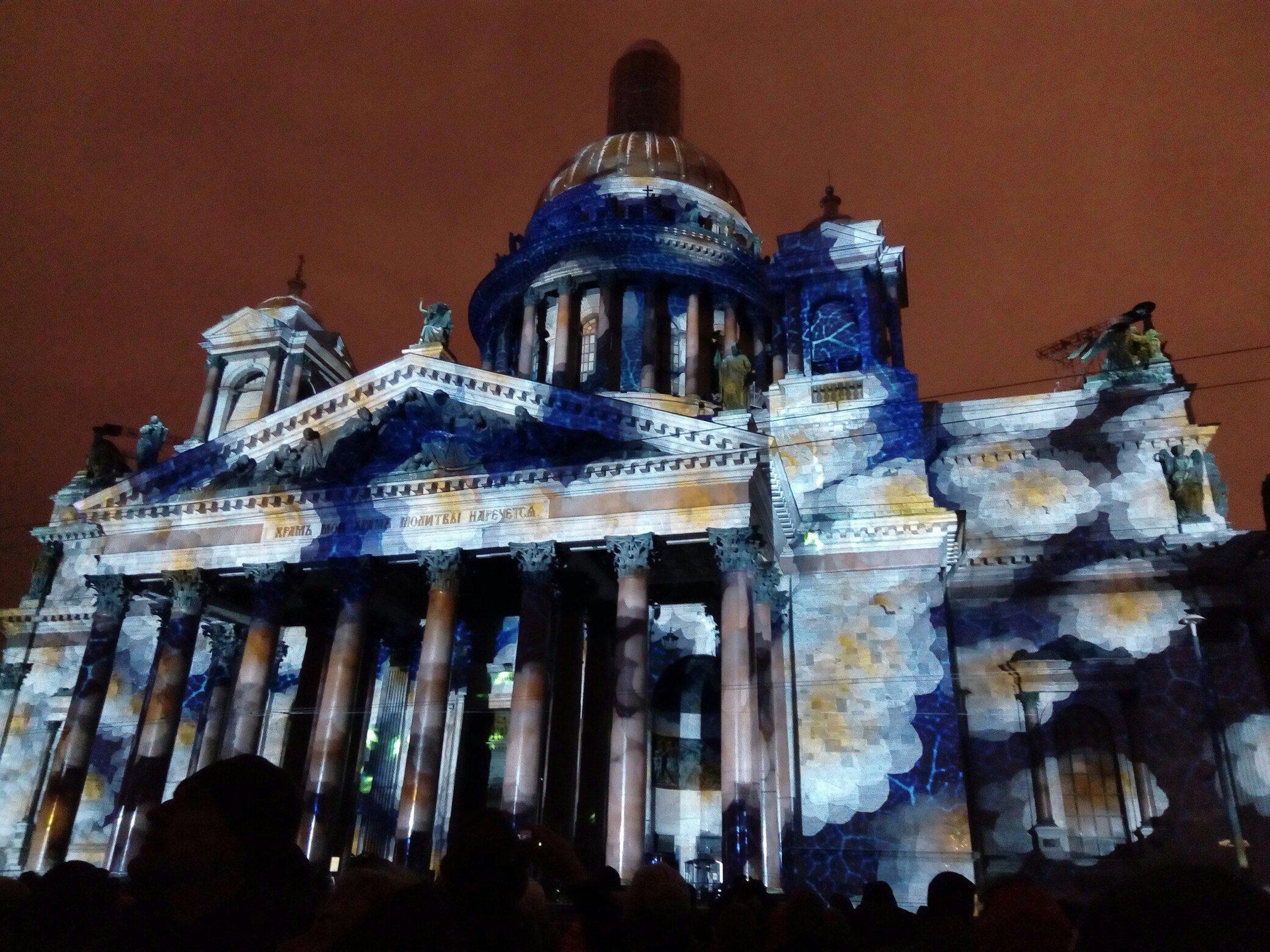 «Фестиваль света» вСанкт-Петербурге осень 2016