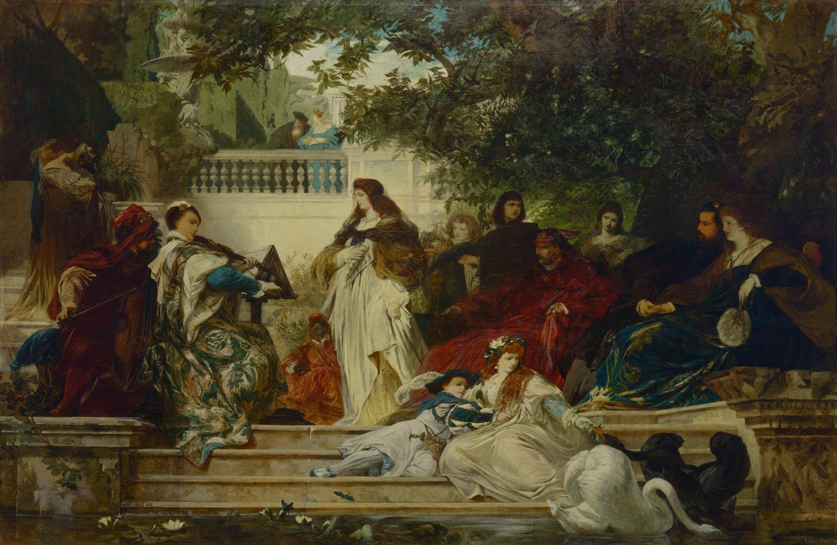 Выставка «Немецкая иавстрийская живопись XIX века изособняка барона А.Л. Штиглица»
