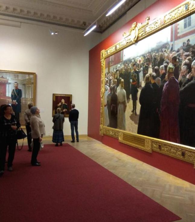 Выставка «И.Е. Репин. К175-летию содня рождения»