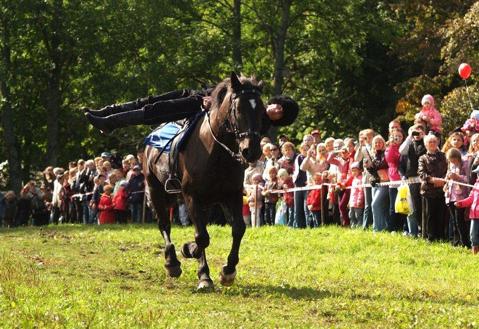 Конно-спортивный праздник «Елагинская карусель» 2017