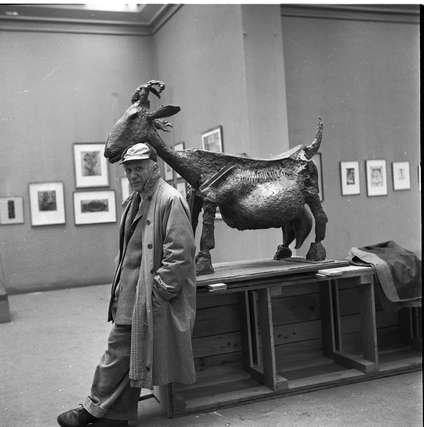 Выставка «Мишель Сима. Гении вмастерских. Закулисье парижской арт-сцены»