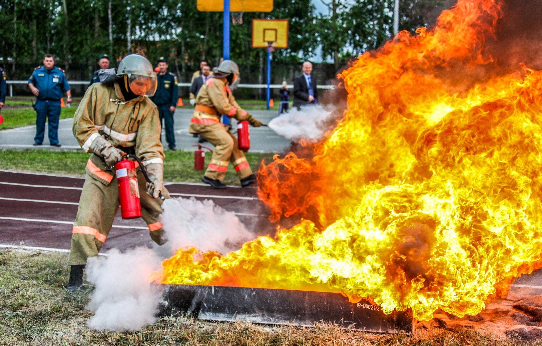 Соревнования среди пожарно-спасательных подразделений 2016