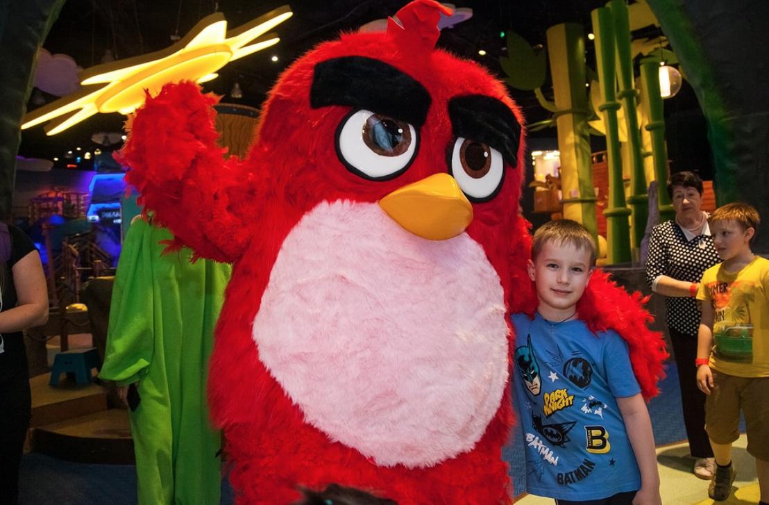 Скидка напосещение Angry Birds Activity Park
