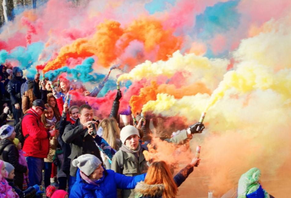 Фестиваль Цветного дыма 2018