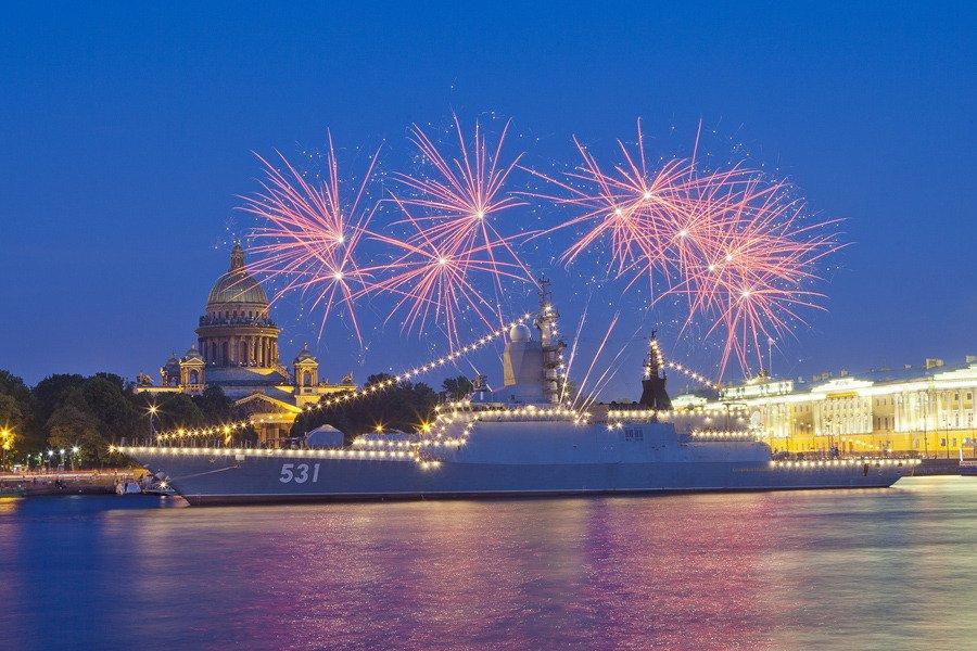 День Военно-Морского флота вСанкт-Петербурге 2019