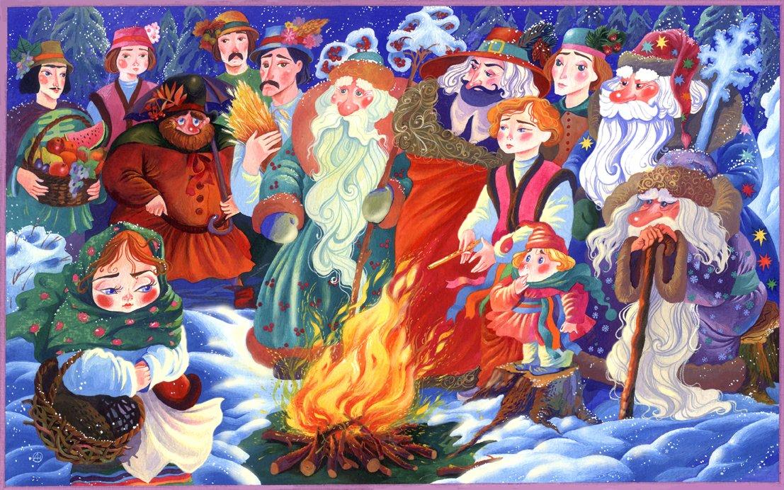 Новогодняя сказка нальду «12 месяцев»