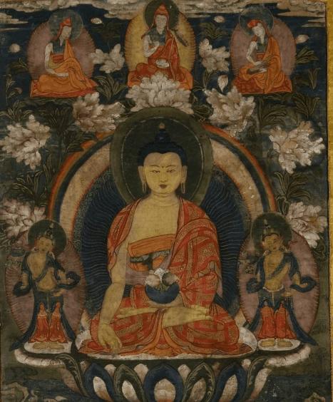 Выставка «Тибетская живопись изсобрания Ю. Н. Рериха»