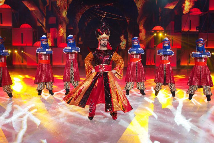 Шоу «Аладдин иПовелитель огня»