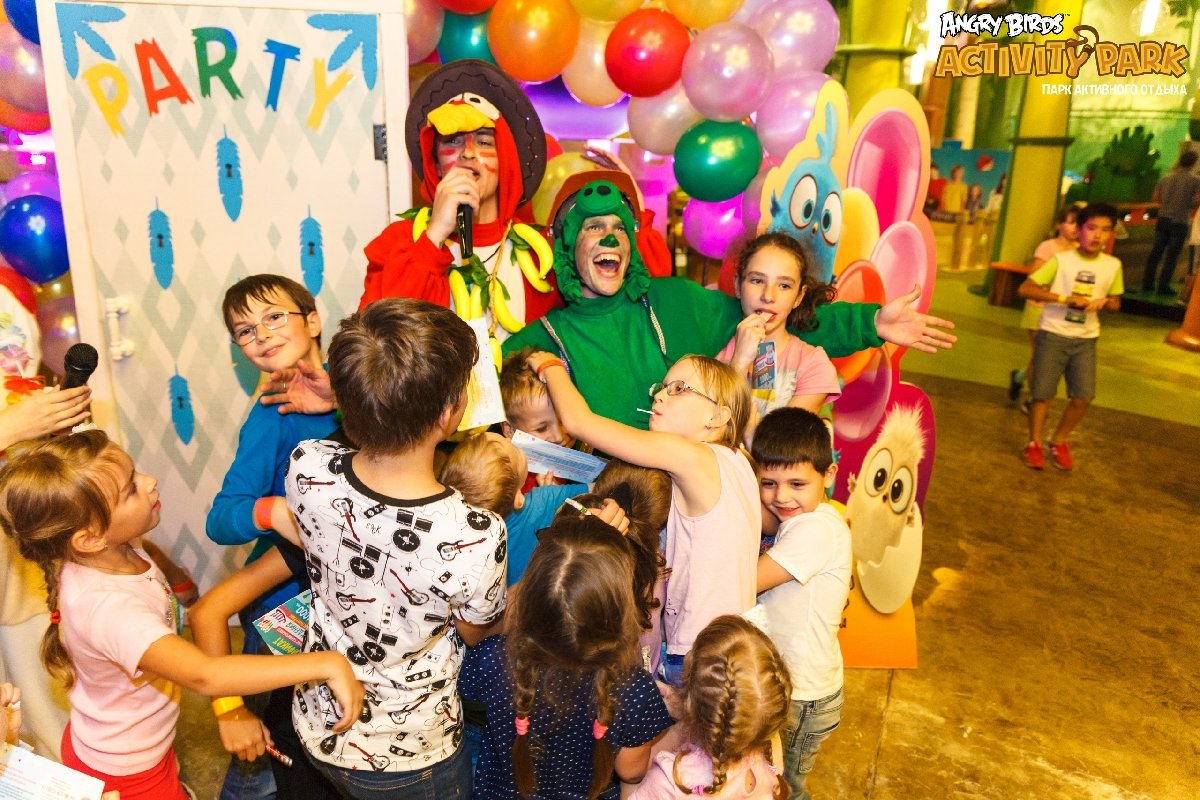 Парк активного отдыха «Angry Birds Activity Park»
