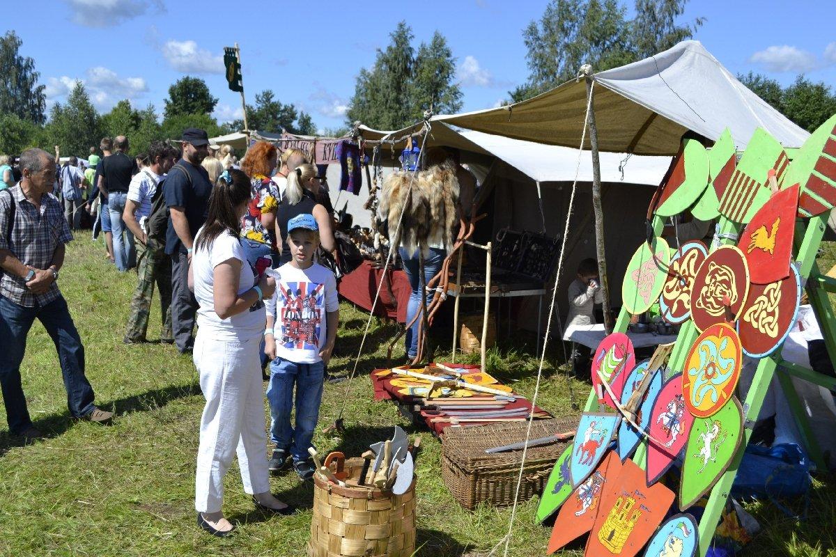 Военно-исторический фестиваль «Шведский уикенд. Битва заСваргас» 2017