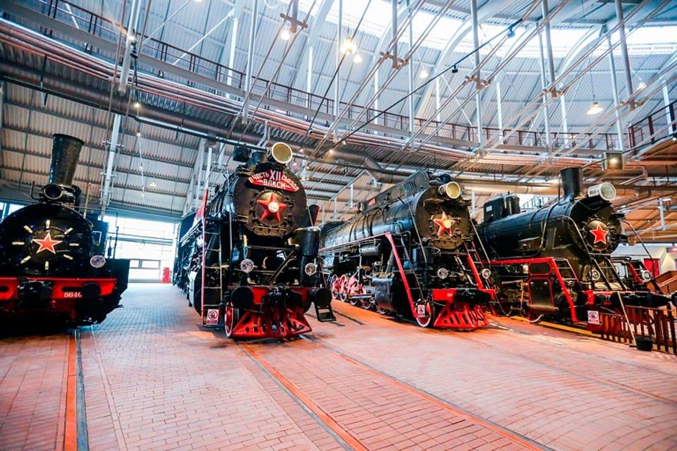 Виртуальный тур поМузею Железных дорог России