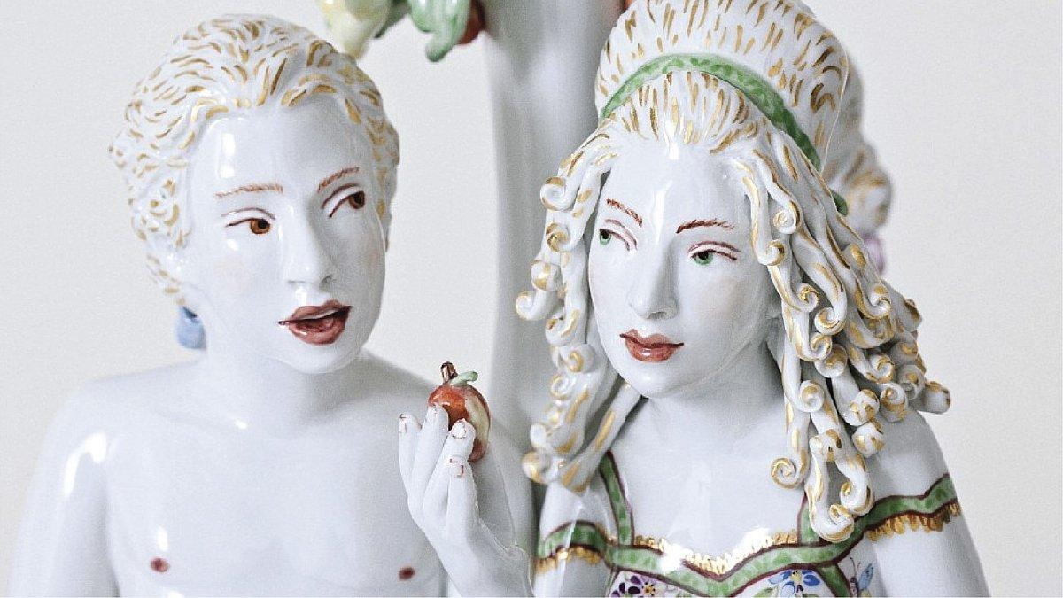 Выставка «Запретный плод. Скульптор Крис Антеманн вМейсене»