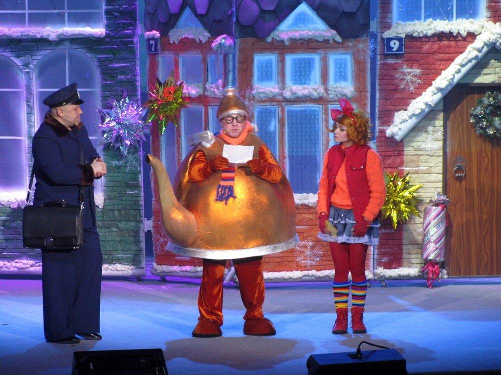 Новогодний спектакль «Ёлка Детского радио– Веснушка, Кипятоша иМышиный король»