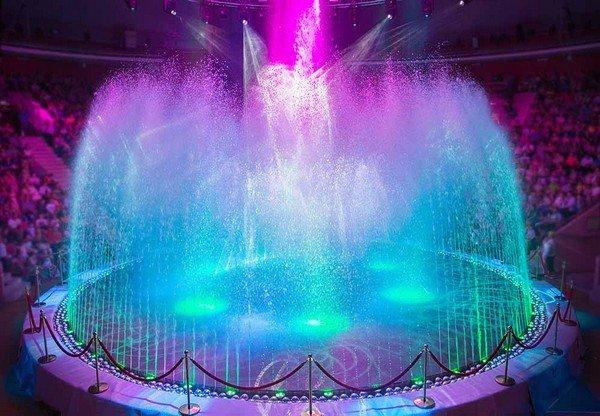 Шоу «Цирк воды, огня исвета»