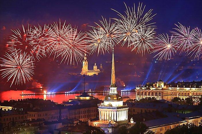 Празднование Дня города Санкт-Петербурга 2016