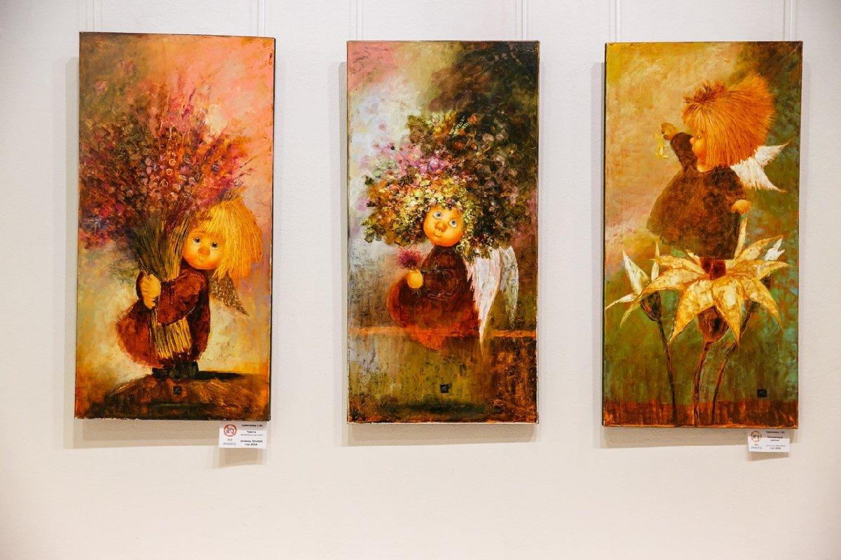 Выставка «Ангелы иволшебный лес»