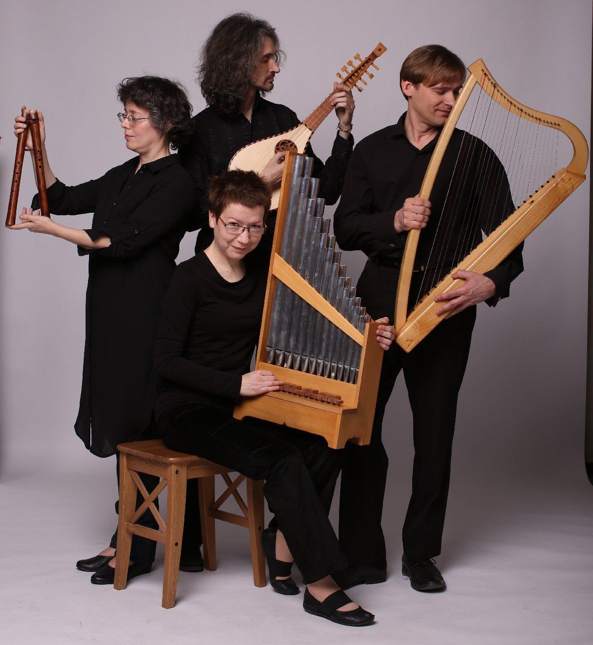 Ансамбль средневековой музыки LATERNA MAGICA
