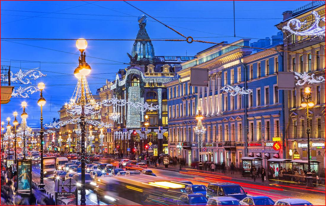 Экскурсия «Вечерний Петербург»