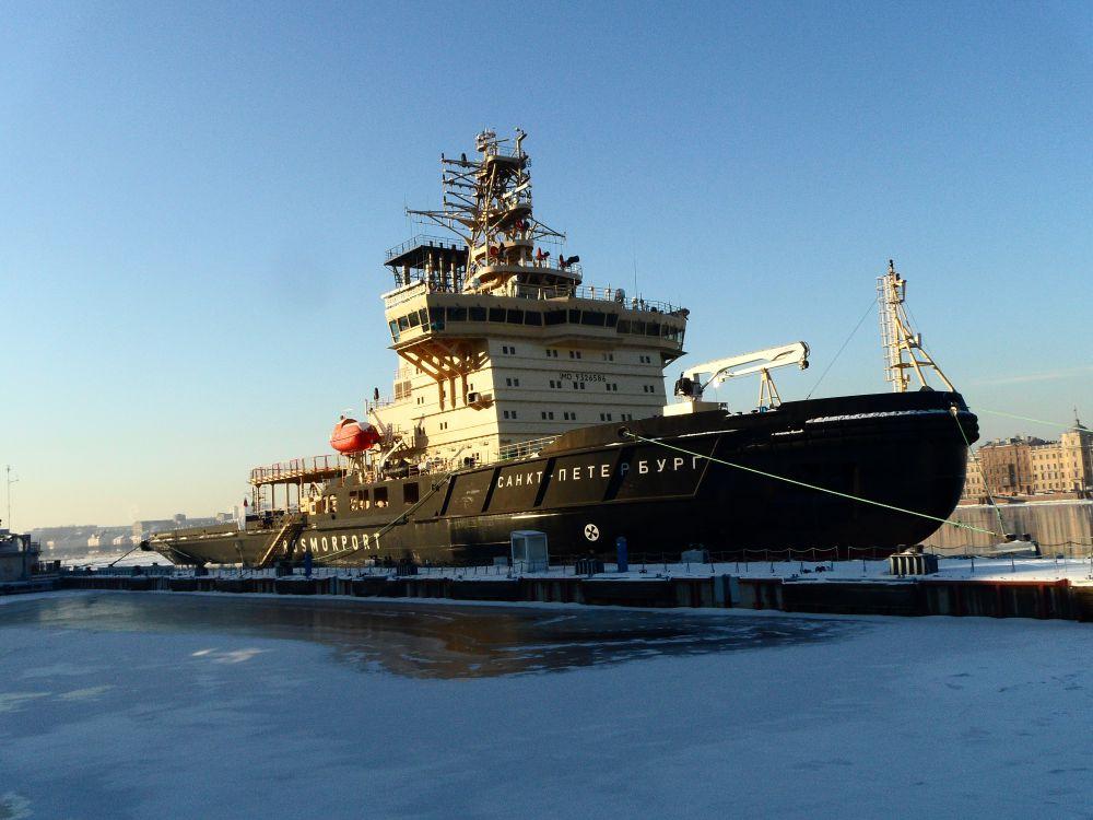Третий фестиваль ледоколов прошёл Санкт-Петербурге