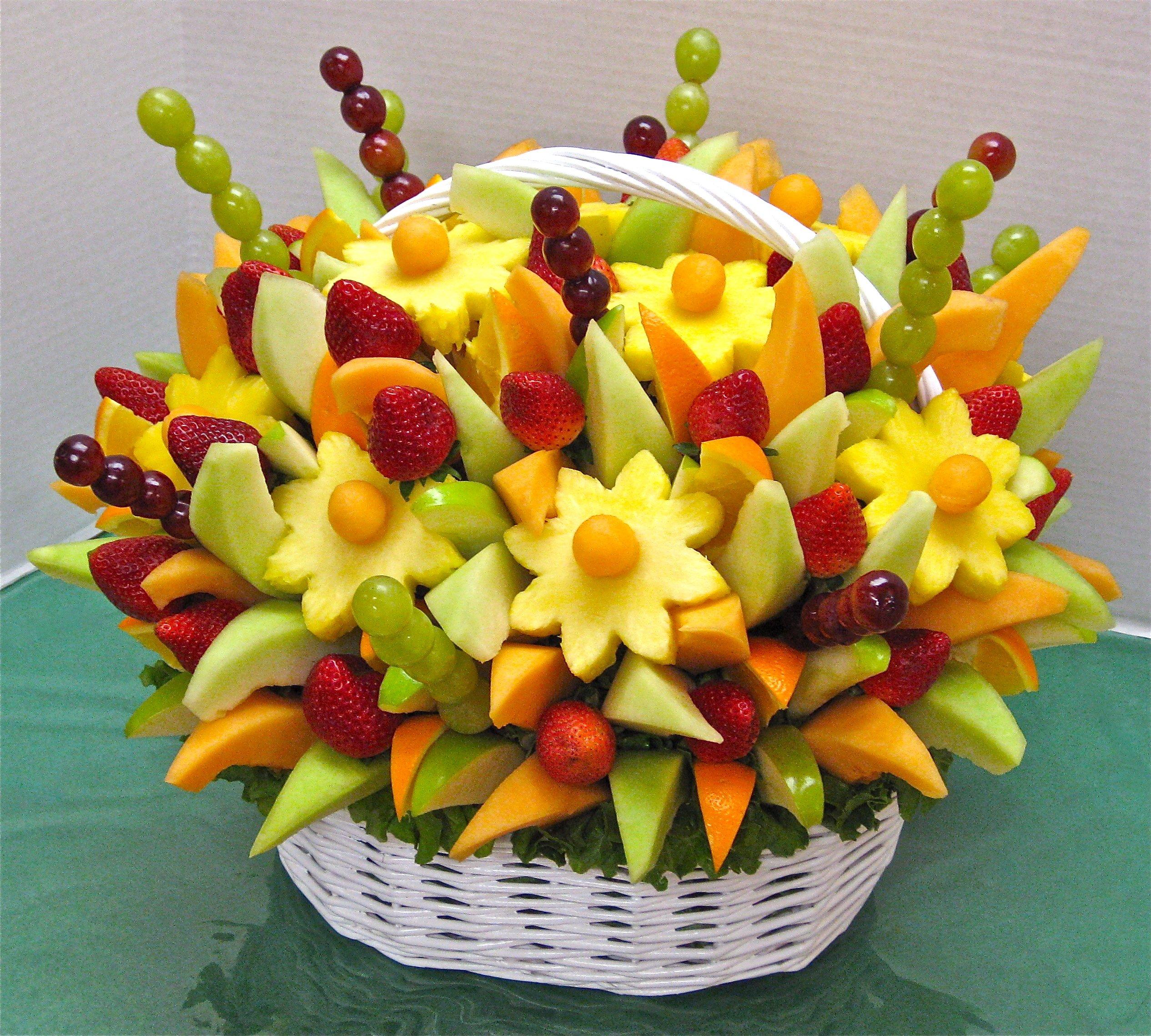 Как сделать своими руками корзинку для фруктов