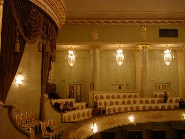 театр музыкальной комедии схема зала спб