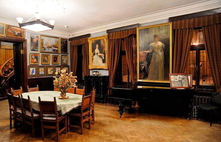 Интерьер музея-квартиры